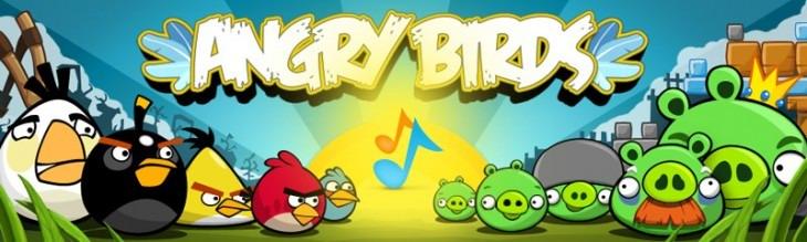 Баннер рингтонов Angry Birds