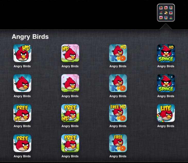 Игры серии Angry Birds