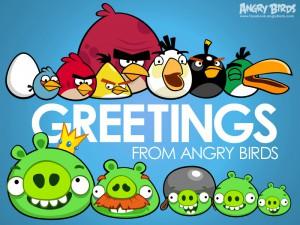 Все персонажи Angry Birds
