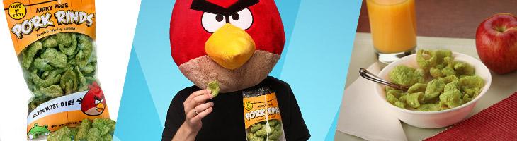 Снеки Angry Birds Pork Rinds