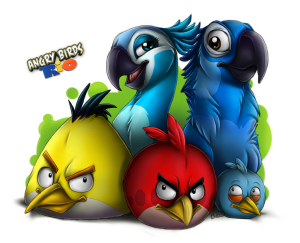 Фан-арт к Angry Birds Rio
