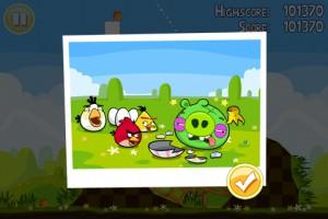 Angry Birds Seasons - Easter Eggs - Все уровни пройдены!