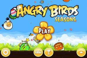 Angry Birds Seasons - Easter Eggs - Главное меню