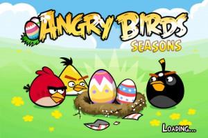 Angry Birds Seasons - Easter Eggs - Экран загрузки