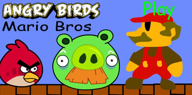 Злые Птицы и Марио