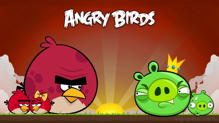 Обои AngryBirdsClub.ru