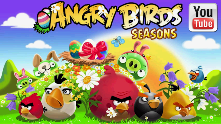 Трейлер Angry Birds Seasons - Easter Eggs Gameplay