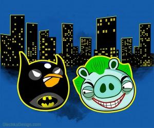 Злой Бетмен и Злой Джокер