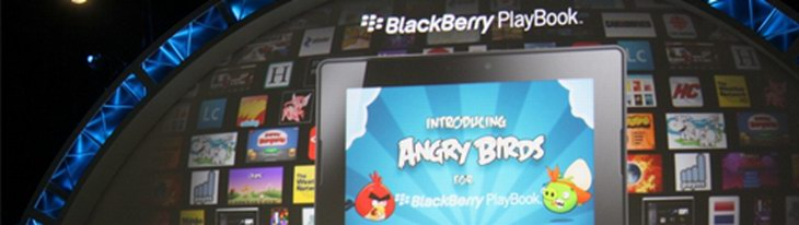 Angry Birds выйдут на Blackberry Playbook
