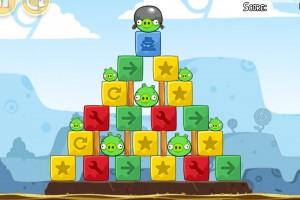 Angry Birds Chrome - Уровень Dimension №6