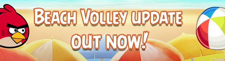 Angry Birds Rio Beach Volley теперь доступно в Android Marketplace