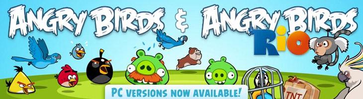 Вышла Angry Birds Rio для компьютера (PC)