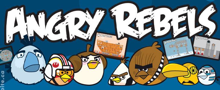 Angry Birds Звёздные Войны - Angry Star Wars