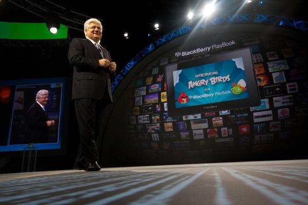 На BlackBerry World аннонсировали Angry Birds для PlayBook