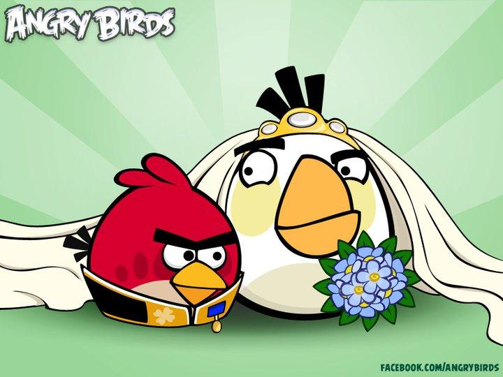 Angry Birds свадьба