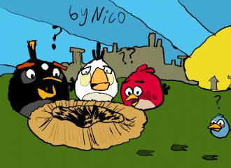 Украли яйца