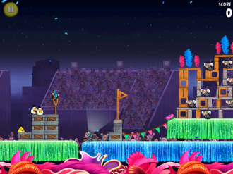 Angry Birds Rio Carnival Upheaval - Уровень