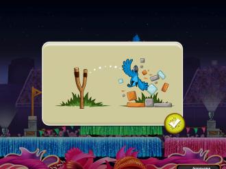 Angry Birds Rio Carnival Upheaval - Голубчик