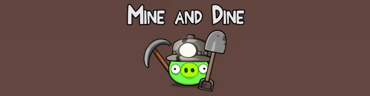 Новый эпизод Angry Birds - Mine and Dine