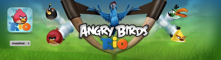 Angry Birds Rio Mac Обновление v1.2.2