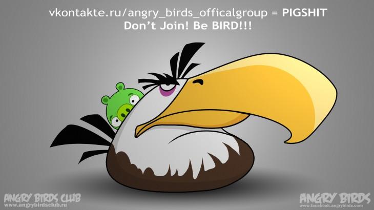 Наш ответ vkontakte.ru/angry_birds_officalgroup