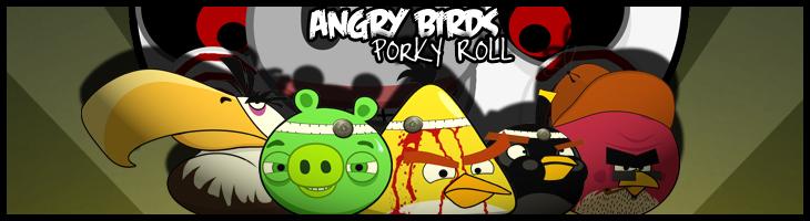 Комикс-ужастик Angry Birds SAW - Porky Roll