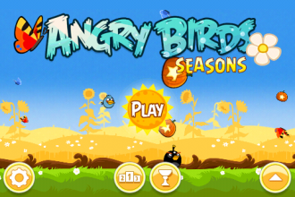 Angry Birds Seasons - Summer Pignic - Главное меню