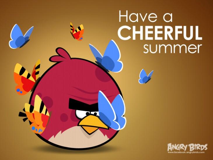 Facebook-карточка Доброе лето