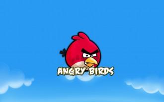 Обои Angry Birds Красная Птица