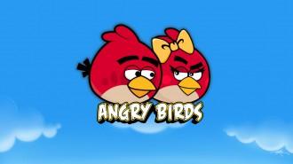 Обои Angry Birds Красные Птицы Love Is