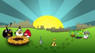 Обои Angry Birds Упс-фэйл - украли Яйца
