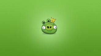 Обои Angry Birds - СвиноКороль