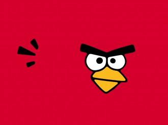 Обои Angry Birds - Стол - Красная Птица