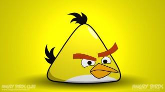 Обои Angry Birds Жёлтая Птица