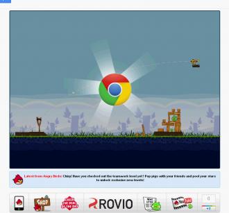 Логотип Chrome на уровне 1-16 Poached Eggs