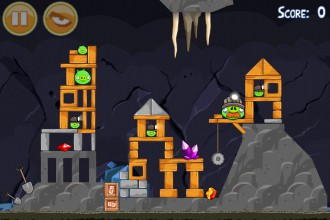 Angry Birds Mine And Dine Уровень 16-1
