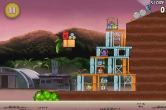 Angry Birds Rio Airfield Chase уровень 9-2
