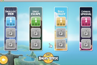 Angry Birds Rio Bonus - Выбор эпизода