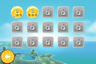 Angry Birds Rio Golden Beachball - выбор уровня