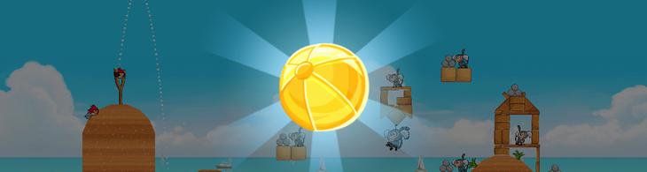 Как открыть секретные уровни Golden Beachball в Angry Birds Rio