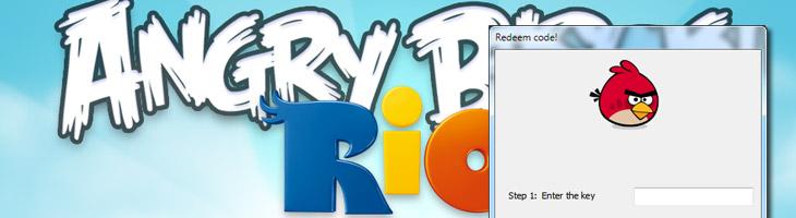 Angry Birds Rio для PC v122 с Кодом Активации