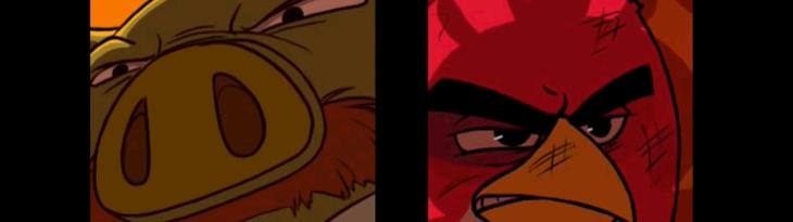 Анимированный комикс Angry Birds - аннонс