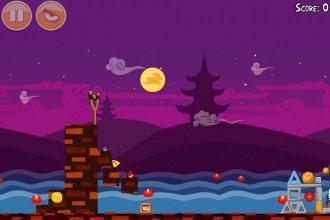 Angry Birds Seasons Mooncake Festival Золотой Лунный Пирог Кусочек 2 на уровне 1-5