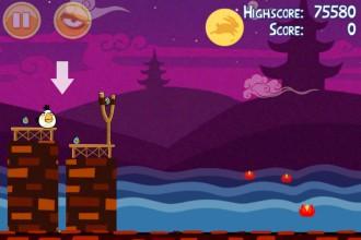 Angry Birds Seasons Mooncake Festival Золотой Лунный Пирог Кусочек 7 на уровне 2-12