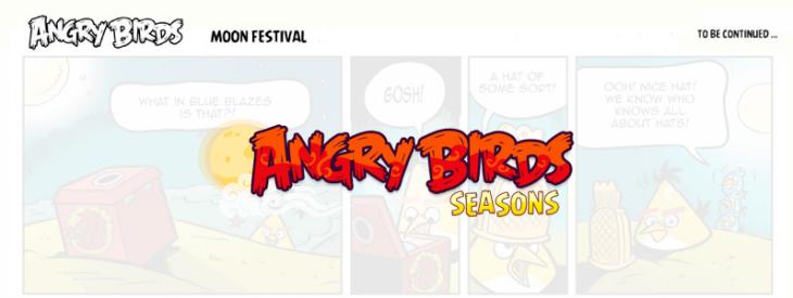 Комикс Angry Birds: Moon Festival