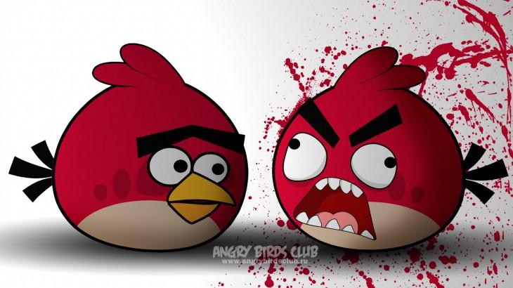 Обои Angry Birds Fruustration