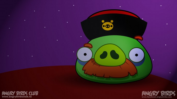 Обои Angry Birds Seasons Mooncake Festival Mr. Moustache