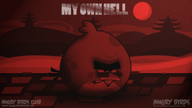 Обои Angry Birds - My Own Hell