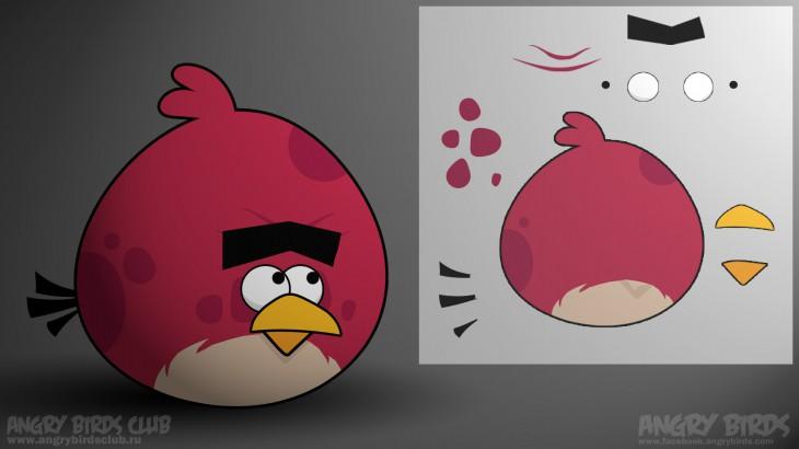 """Обои Angry Birds Большой Брат """"нипоняяятно?...."""""""