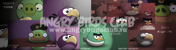 Обои Angry Birds Wallpapers от madfive5